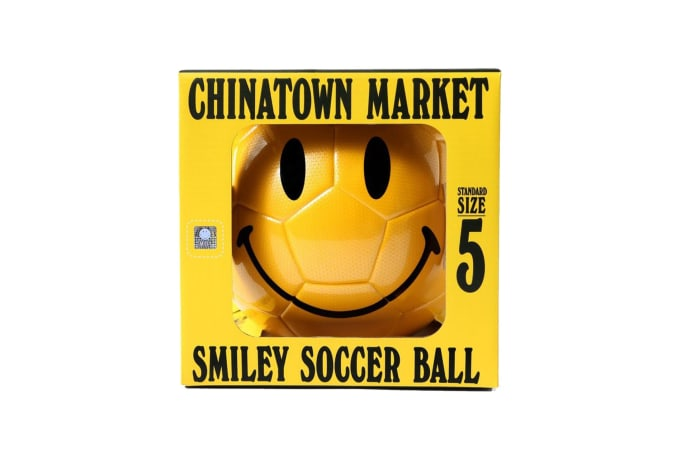 Chinatown Market Smiley Soccer Ball - default