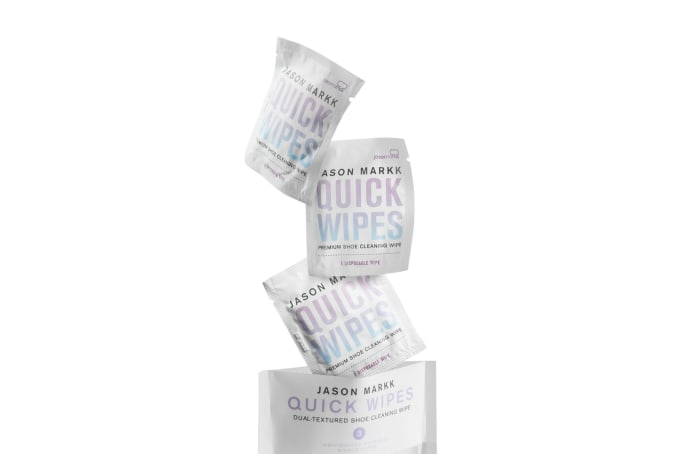 Jason Markk Quick Wipes 3 Pack - default