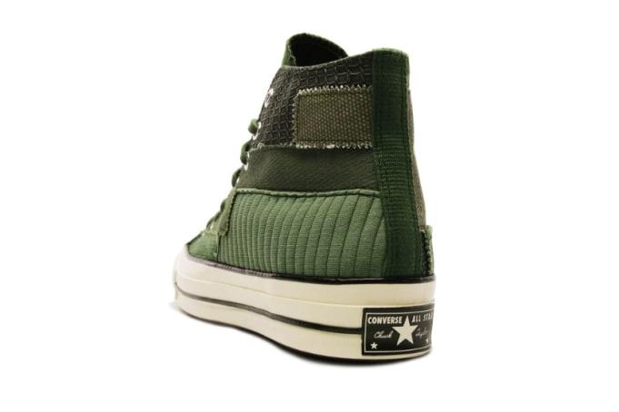 Converse Chuck 70 Hi 'Mono Patchwork'  - Green