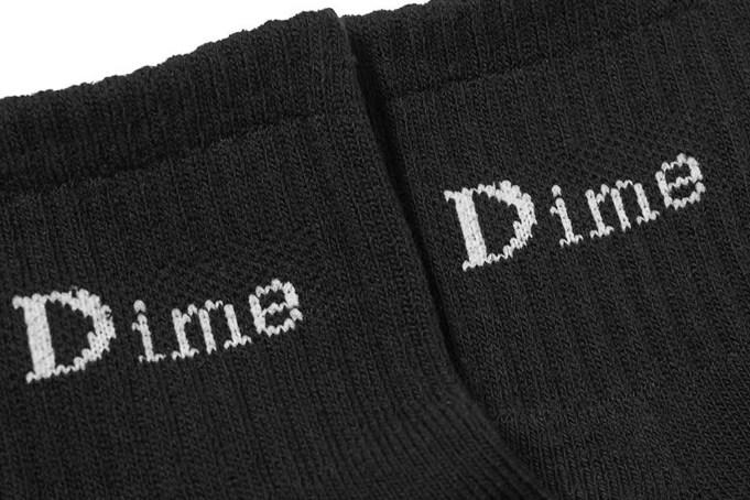 Dime Logo Ankle Socks - default
