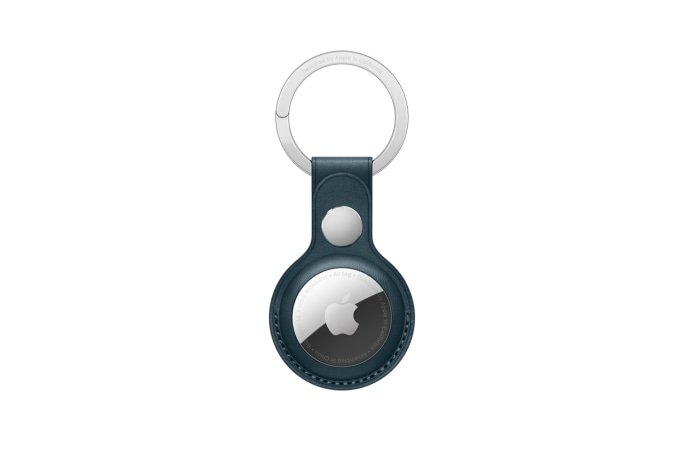 Apple AirTag Leather Key Ring - default