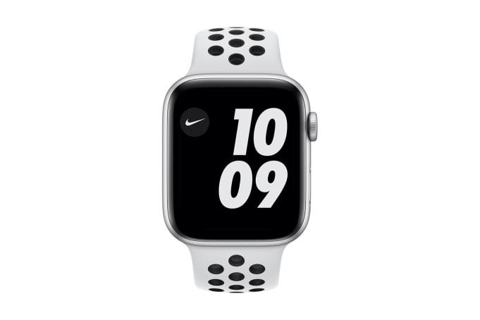 Apple Watch Series 6 GPS + Cellular 44mm Aluminium Case with Sport Band - default