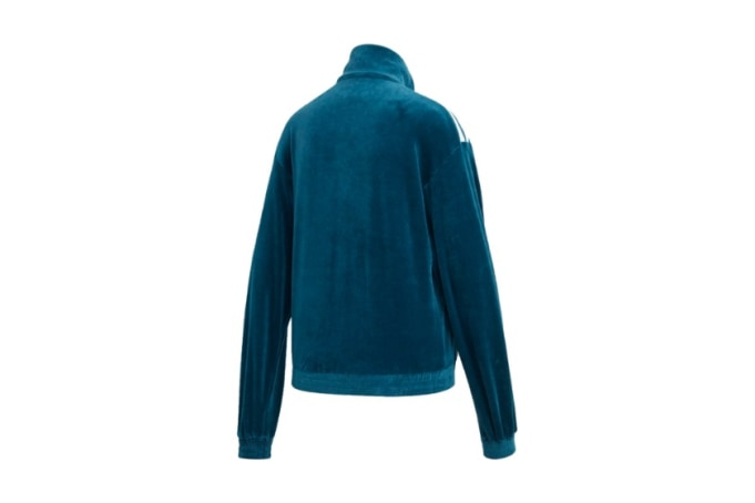 adidas WMNS Velour Track Jacket - Blue