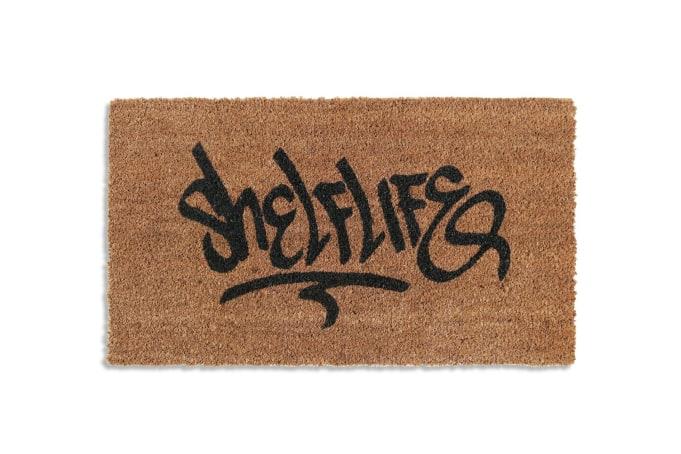 Shelflife OG Tag Logo Door Mat - default