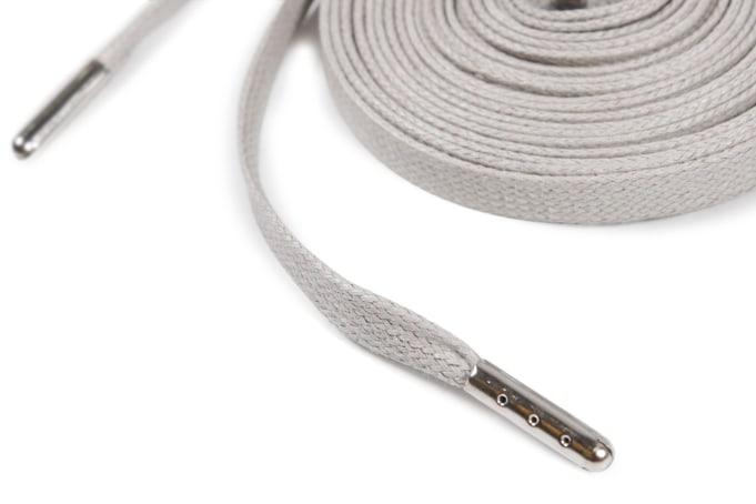 Binder Flat Waxed Laces Metal Aglets 80cm - default