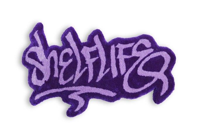 Shelflife OG Tag Logo Tufted Rug - default