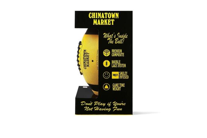 Chinatown Market Smiley Football - default