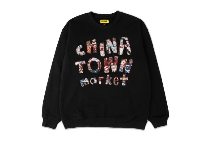 Chinatown Market Patchwork Crewneck - default