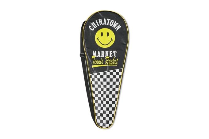 Chinatown Market Smiley Tennis Racquet - default