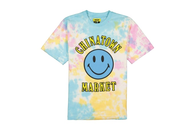 Chinatown Market Smiley Tie-Dye Tee - default