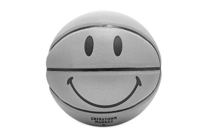 Chinatown Market Smiley 3M Basketball - default