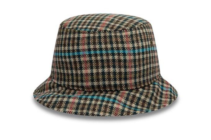 New Era Check Bucket Hat - default