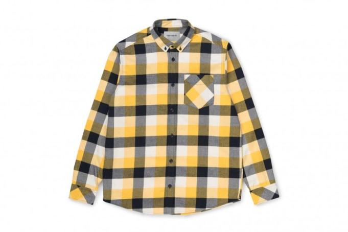 Carhartt WIP Keagan Twill Flannel Shirt  - default