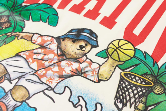 Chinatown Market Dunking Bear By The Water Tee - default