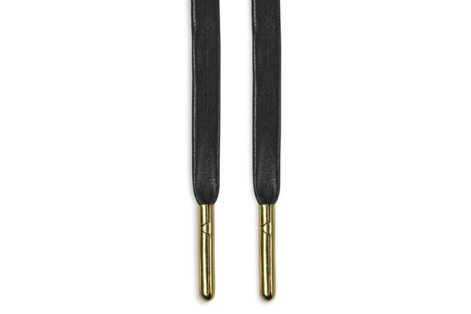 Binder Faux Leather Laces Metal Aglet 80cm - default