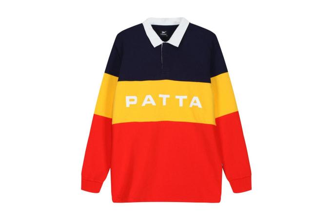 Patta Puff Print Polo Crewneck - default