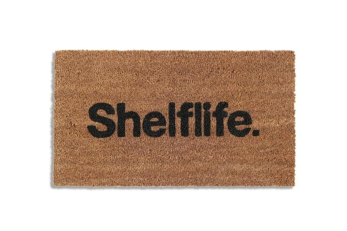 Shelflife Simple Font Logo Door Mat - default
