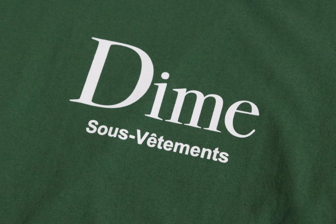 Dime Sous-Vetements Long-Sleeve Tee - default