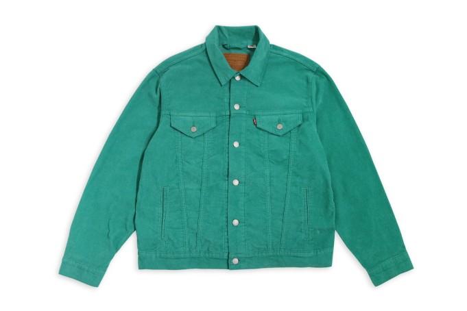 Levi's Vintage Corduroy Trucker Jacket - default