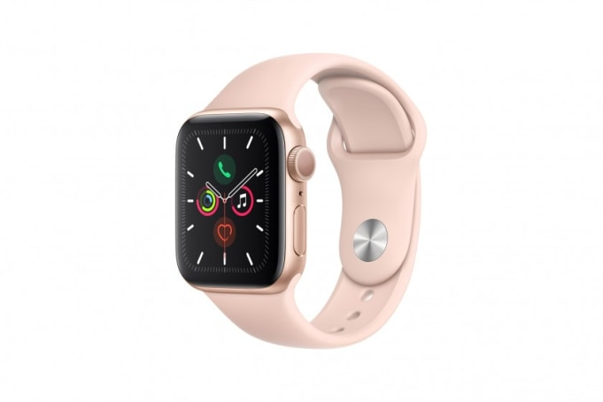 Apple Watch Series 5 40mm GPS Gold Aluminium Case with Sport Band  - default