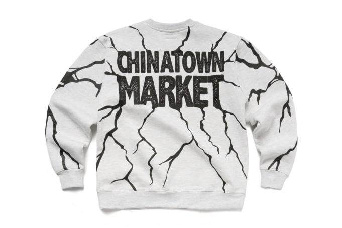 Chinatown Market Dry Wall Breaker Crewneck - default