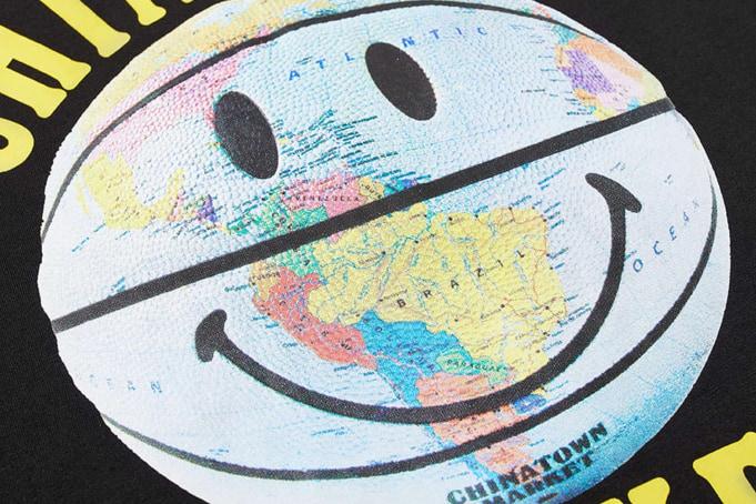 Chinatown Market Smiley Global Ball Tee - default
