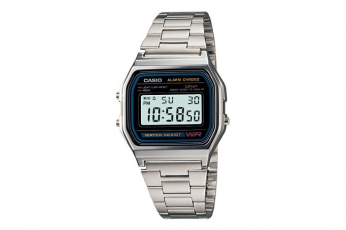 Casio A158 Retro Chronograph - default