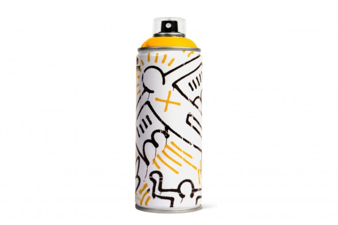 Montana Limited Edition Keith Haring Can - default