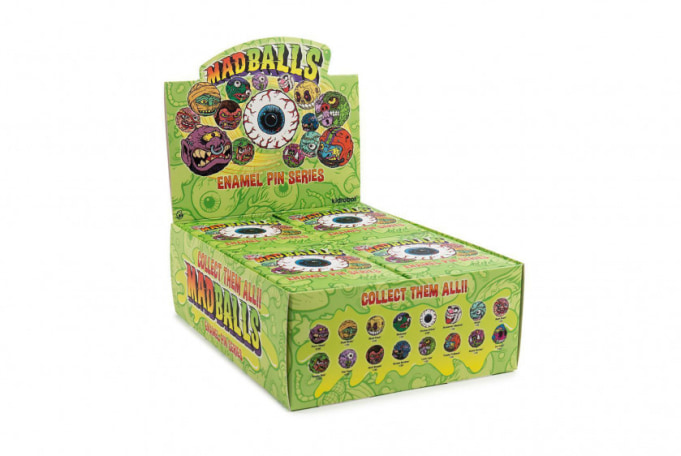 Kidrobot Madballs Enamel Pin Series (Blind Box) - default