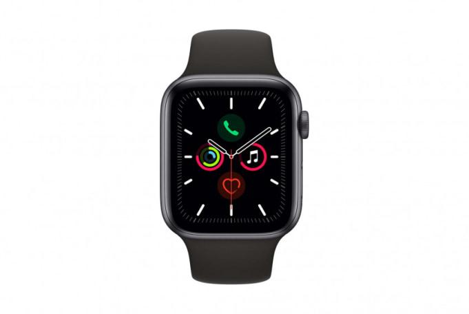 Apple Watch Series 5 44mm GPS Grey Aluminium Case with Sport Band - default