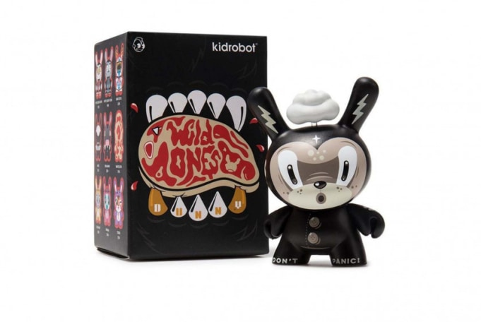 Kidrobot The Wild Ones Dunny Mini Art Figure Series (Blind Box) - default