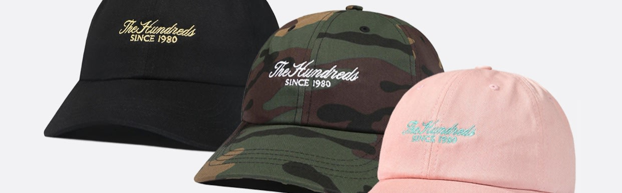 The Hundreds Rich Dad Caps