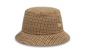 New Era Houndstooth Check Bucket Hat