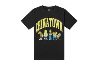The Simpsons x Chinatown Market Ha Ha Arch Tee