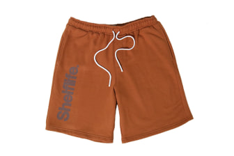 Shelflife Simple Font Fleece Shorts