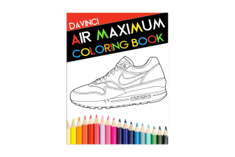 Air Maximum Colouring Book