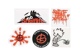 Shelflife Car Decals Sticker Pack