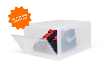 Shelflife Clear Sneaker Crates