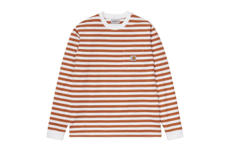 Carhartt WIP Scotty Stripe Pocket Long-Sleeve Tee