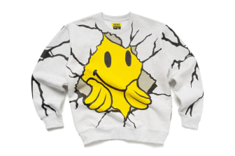 Chinatown Market Dry Wall Breaker Crewneck