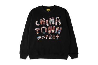 Chinatown Market Patchwork Crewneck