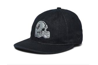 New Era 9FIFTY Low Profile Strap Back Raiders