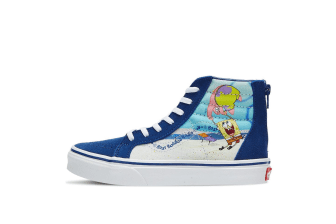 Vans x SpongeBob SquarePants Sk8-Hi Zip Kids