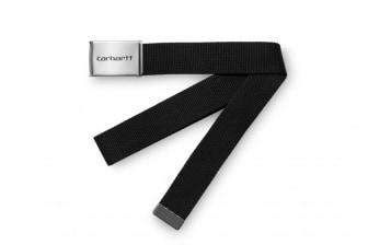 Carhartt WIP Clip Belt Chrome