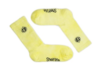 Shelflife Garment Dyed Crew Socks