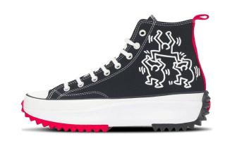 Converse x Keith Haring Run Star Hike High