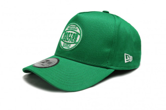 New Era Boston Celtics Felt Patch Trucker Hat