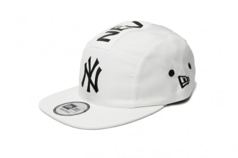 New Era NY Yankees 5-Panel - White