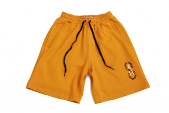 Shelflife 'Crime in the City' Fleece Shorts