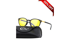 Buy this discounted product CGID CY32 Premium TR90 Frame Blue Light Blocking Glasses,Anti Glare Fatigue Blocking Headaches Eye Strain,Safety Glasses for Computer/Phone/Tablets,KeyHole Flexible Unbreakable Frame,Yellow Lens on Amazon